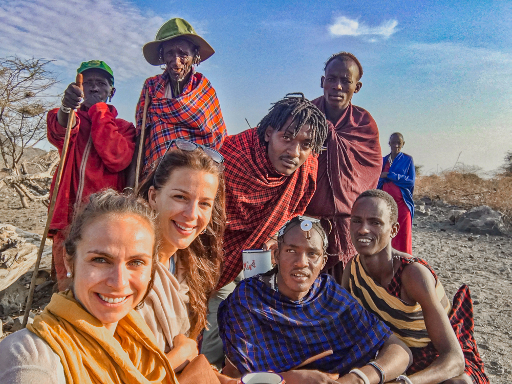 Lake Natron: Papakinye's Masai family