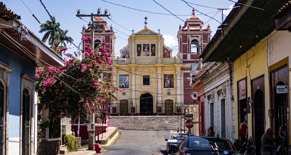 Calvario chruch in Léon, Nicaragua