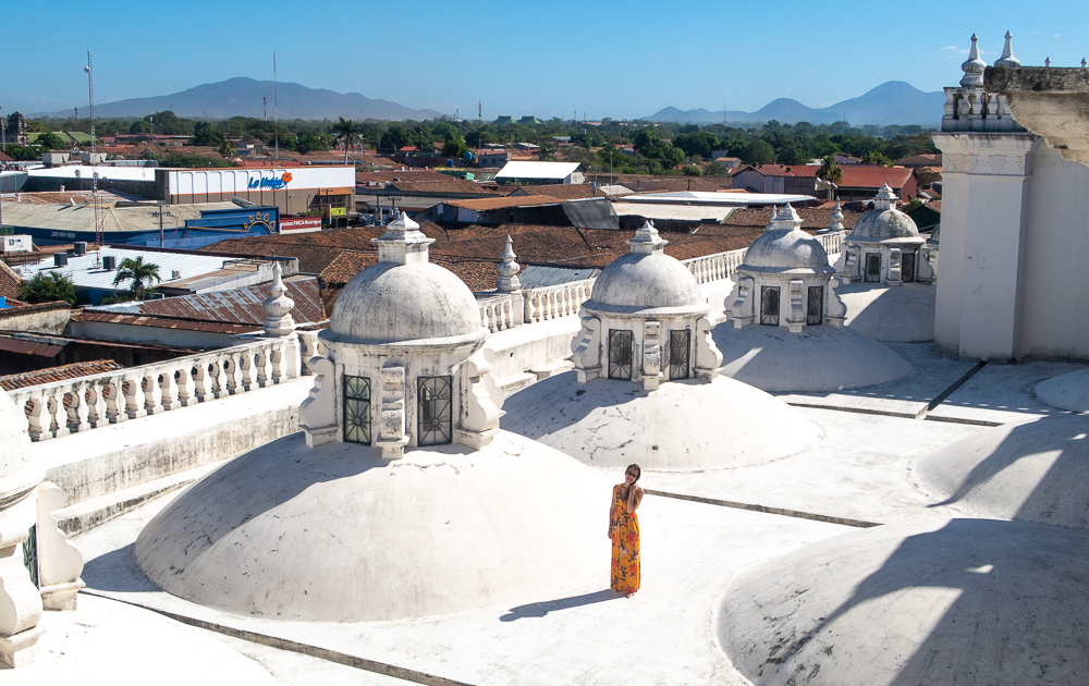 Leon, Nicaragua: On top of the Central Cathedral