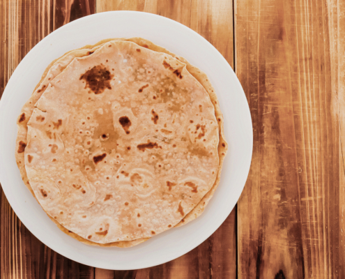 Food culture in Tanzania: Chapati