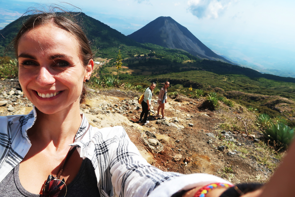 Hike to Santa Ana's volcanic crater lake at Cerro Verde National Park
