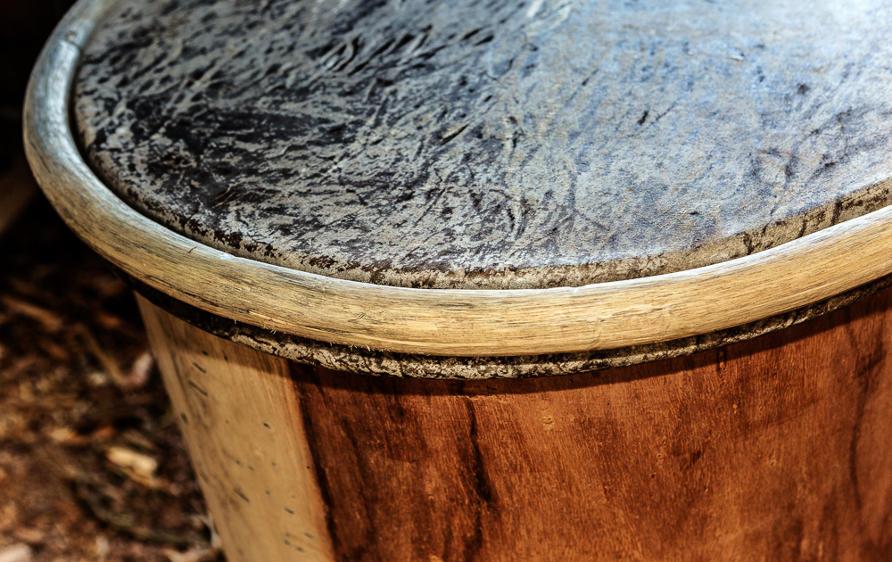 Garifuna Drum in Hopkins, Belize
