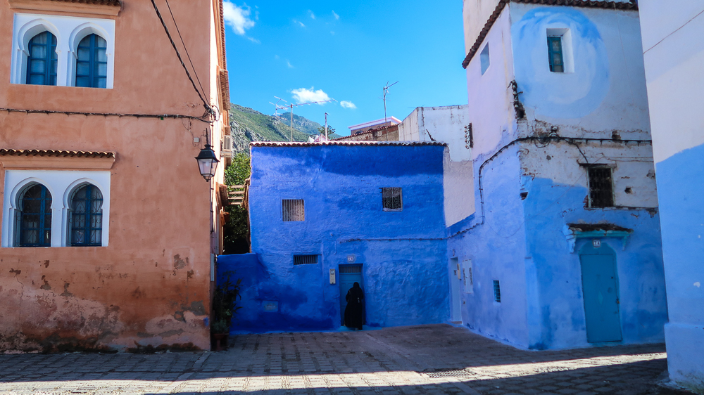 Chefchaouen, Morocco: Street
