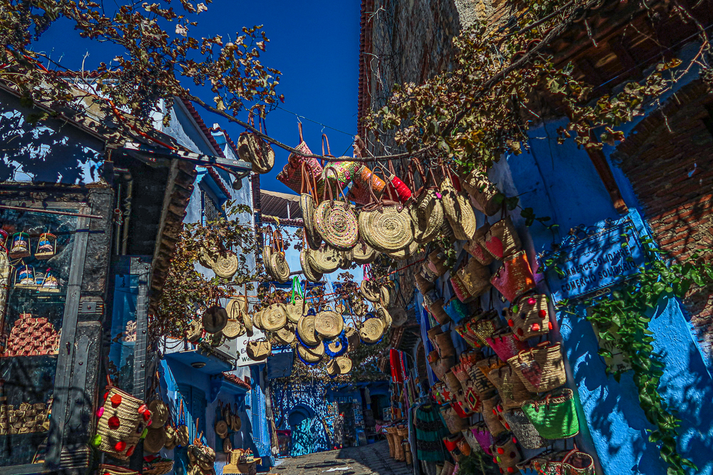 Chefchaouen, Morocco: Streetview