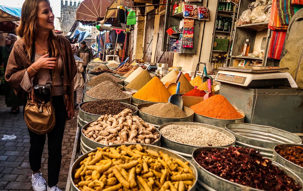 dani in Fondouk Fez, Morocco:
